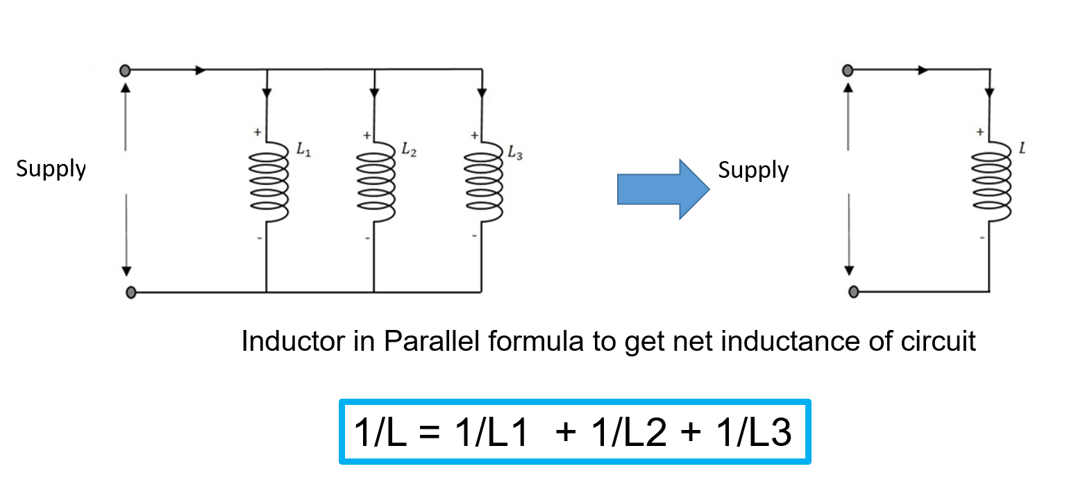 inductor in parallel